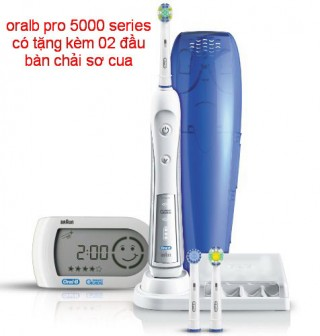 Braun Oral-B Electric Toothbrushes  PRO 5000 smart guide