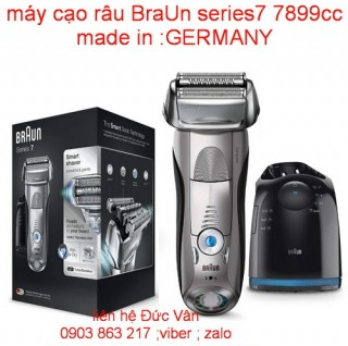 Máy cạo râu BraUn series 7 7899cc MADE IN GERMANY