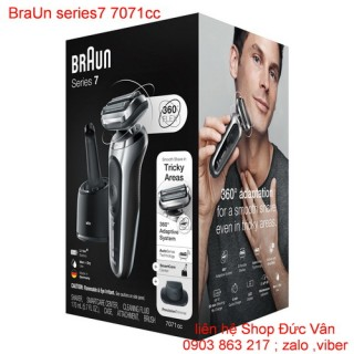 Máy cạo râu BraUn series7 7071cc MADE IN GERMANY