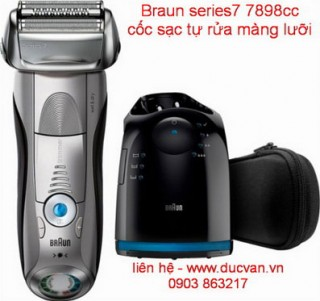 Máy cạo râu Braun Series 7 7898cc-MADE IN GERMANY