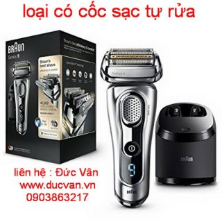 Máy cạo râu BraUn series 9 9296cc made in GERMANY