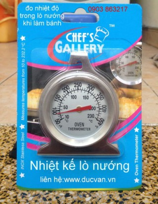 Oven thermometer Gallery Chefs
